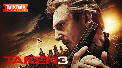 Taken 3 is available on TalkTalk Box Office.